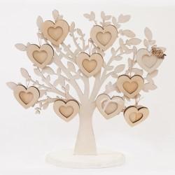 Семейно дърво с рамки за снимка