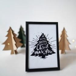 Постер с елха