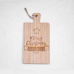 """Дъска за рязане """"Merry Christmas"""""""