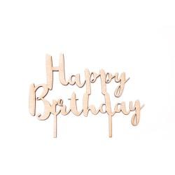"Топер за торта ""Happy B-day"""